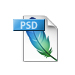 Image of a PSD file format.