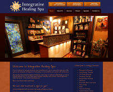 Picture of Integrative Healing Spa Web Site
